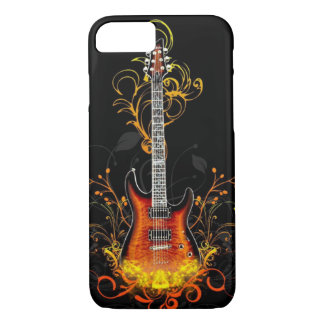 Artsy Vintage Guitar iPhone 7 Case