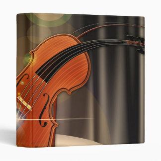 Artsy Violin Music Binder