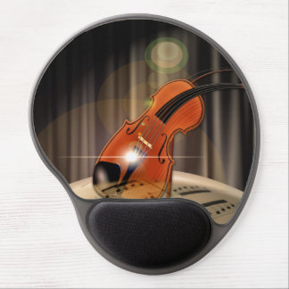 Artsy Violin Music Gel Mouse Pad