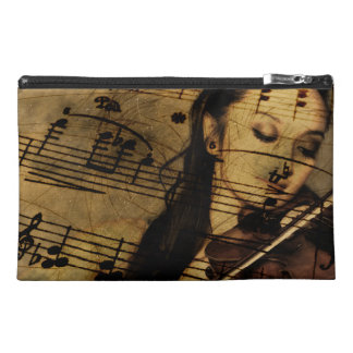 Artsy Violin Music Travel Accessory Bag