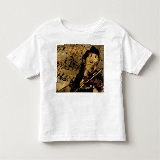 Artsy Violin Music T-shirts