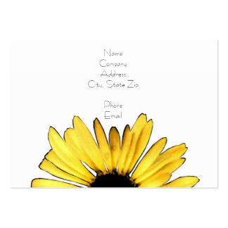 122 yellow gerbera daisy business cards and yellow for Artsy business cards