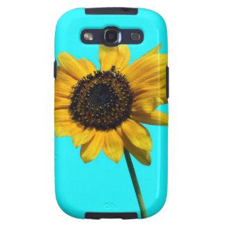Artsy Yellow Sunflower Samsung Galaxy S3 Cover