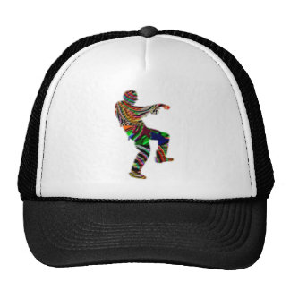 ARTT101 Multiple ZOMBIE Dance Trucker Hat