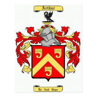 Arturo (irlandés) postales