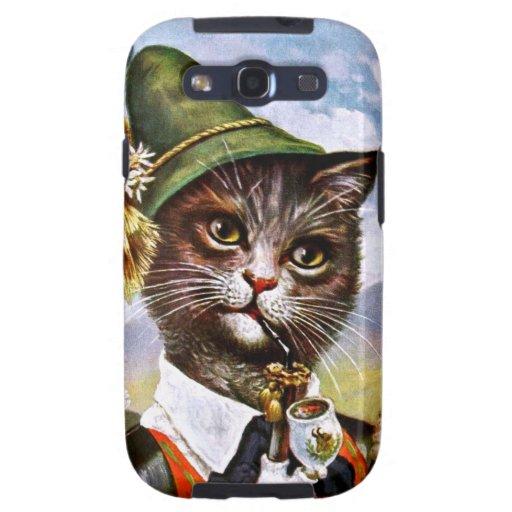 Arturo Thiele - gato bávaro de las montañas Samsung Galaxy S3 Funda