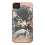 Arturo Thiele - gato en amor Case-Mate iPhone 4 Funda