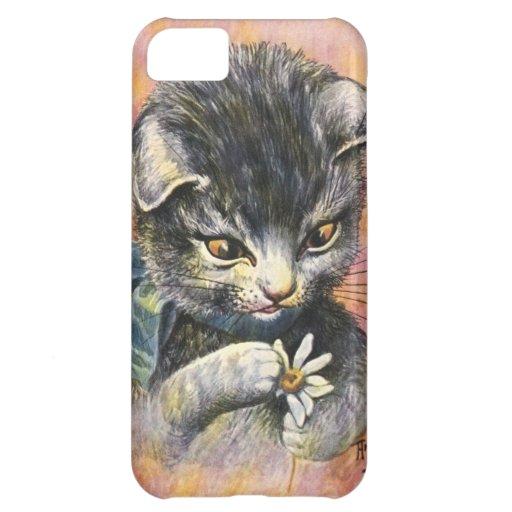 Arturo Thiele - gato en amor Funda Para iPhone 5C