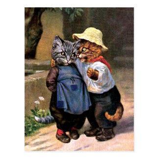 Arturo Thiele - gatos preciosos del país Postales