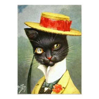 """Arturo Thiele - Sr. Cat Invitación 5"""" X 7"""""""