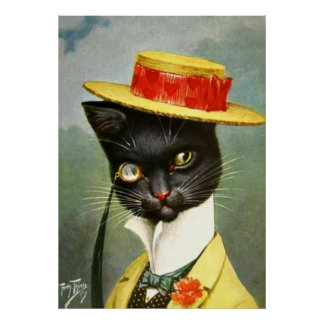 Arturo Thiele - Sr. Cat Posters