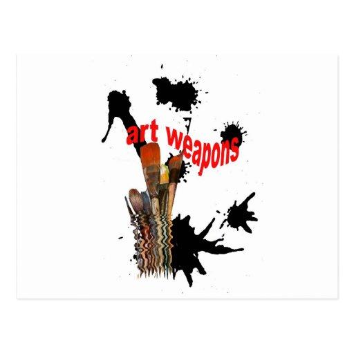 artweapons2 tarjeta postal
