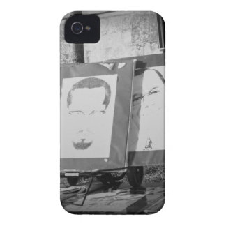 Artwork at Justice or Else iPhone 4 Case-Mate Case