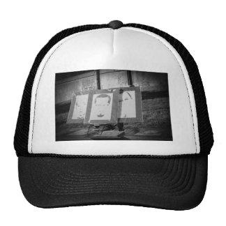 Artwork at Justice or Else Trucker Hat