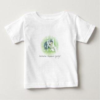Artwork Australian Shepherd Agility Baby T-Shirt