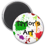 Artwork Personalized Magnet