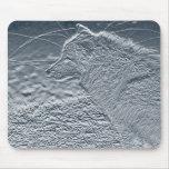 artwork wolf mousepad