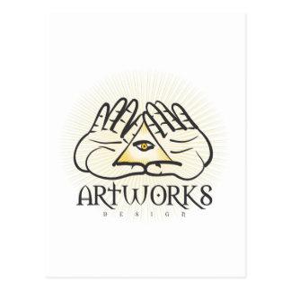 Artworks Design Cartoes Postais