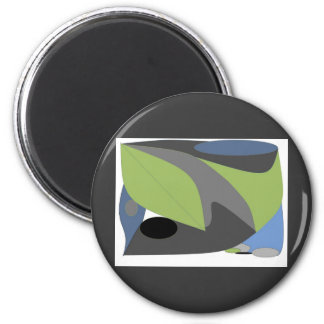 Arty Abstract Magnet