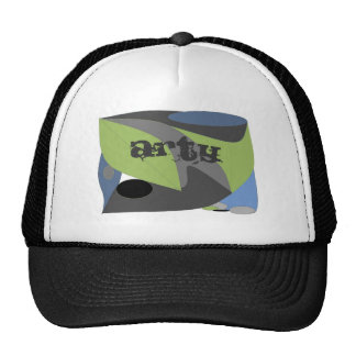 Arty Abstract Trucker Hat