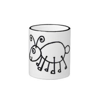 arty ant mug