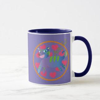Arty Cat Mug