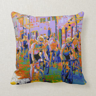 Arty de ciclo del Tour de France Almohada