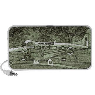 Arty De Havilland DH104 Devon Speaker
