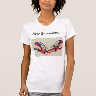 arty designer shoes T-Shirt