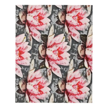 Beach Themed Arty Lilly lotus print
