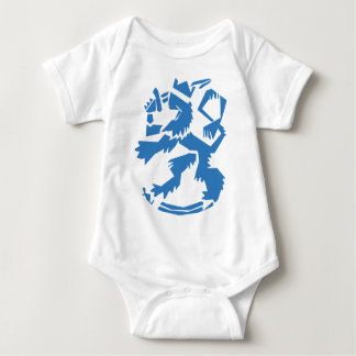 Arty Lion Infant Baby Bodysuit