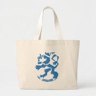 Arty Lion Jumbo Tote Bag