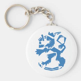 Arty Lion Keychain