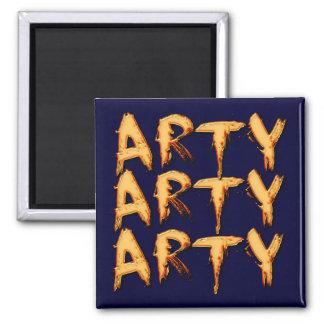 Arty Name-Branded Gift Magnet