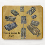 arty party mousepads