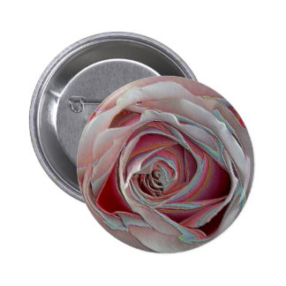 arty pinky rose 2 inch round button