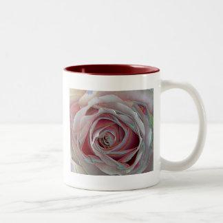 arty pinky rose Mug