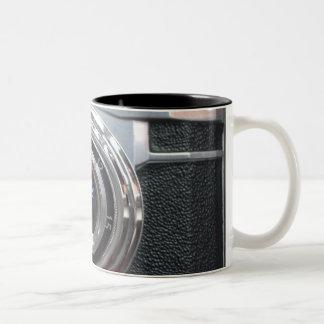Arty retro vintage camera mug