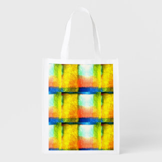 Arty Reusable Bag Market Tote