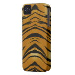 Arty Tiger Stripes Wild Animal Big Cat Phone Case iPhone 4 Cover