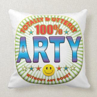 Arty totalmente almohadas