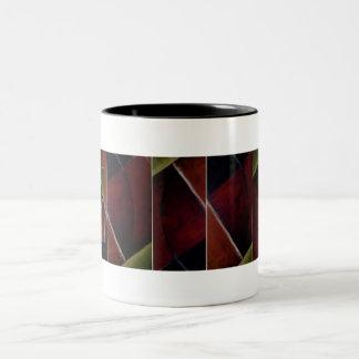 Arty Two-Tone Coffee Mug