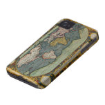 Arty Vintage Old World Map iPhone 4 Case