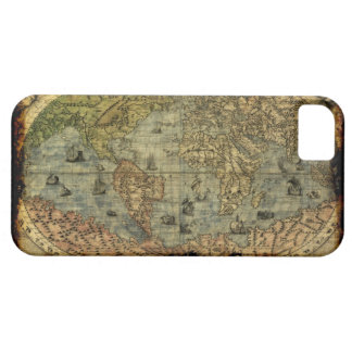 Arty Vintage Old World Map iPhone 5 Case