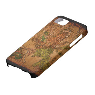 Arty Vintage Old World Map of Europe 1740 iPhone SE/5/5s Case