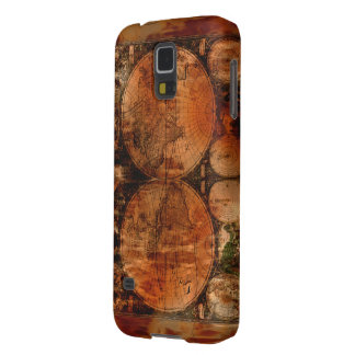 Arty Vintage Old World Map Samsung Case Case For Galaxy S5