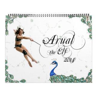 Arual the Elf  2014 Calendar