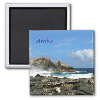 Aruba 2 Inch Square Magnet