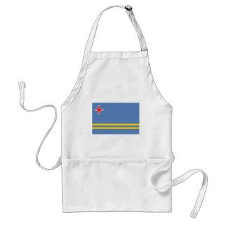 aruba adult apron
