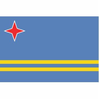 Aruba – Aruban Flag Cutout
